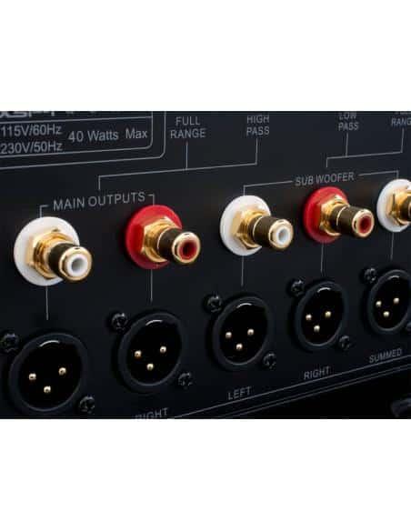 Preamplificatore stereo Emotiva XSP-1, connettori RCA e XLR