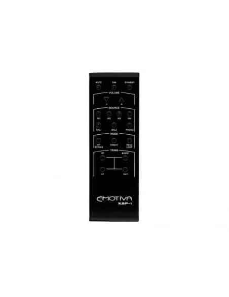 Preamplificatore stereo Emotiva XSP-1, telecomando