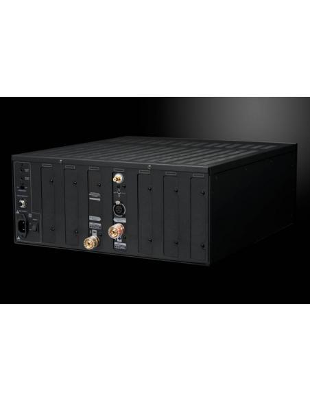 amplificatore Emotiva XPA DR1, vista laterale pannello posteriore
