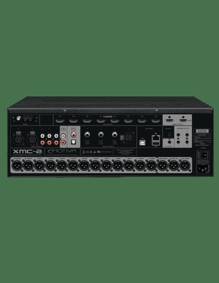 preamplificatore HT audio video a 16 canali, Emotiva XMC2, vista pannello connessioni posteriore